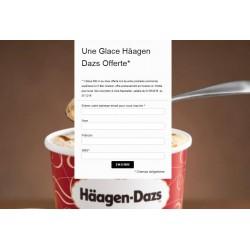 Une Glace Häagen Dazs Offerte*
